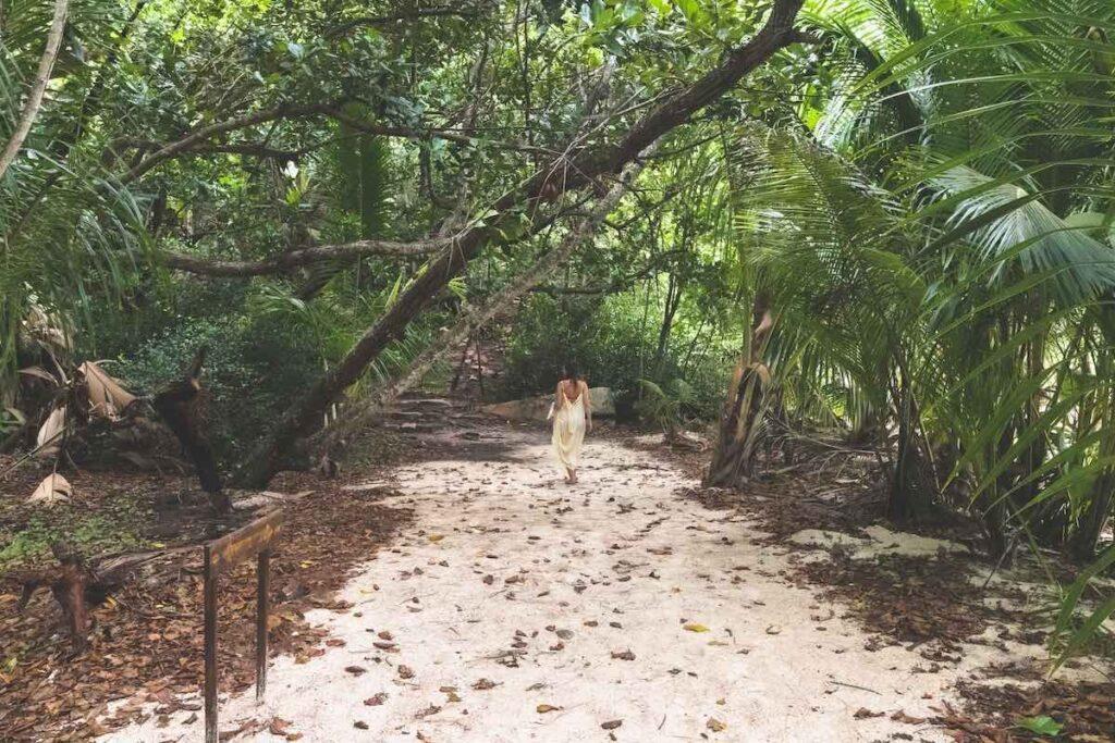 seychelský národní park