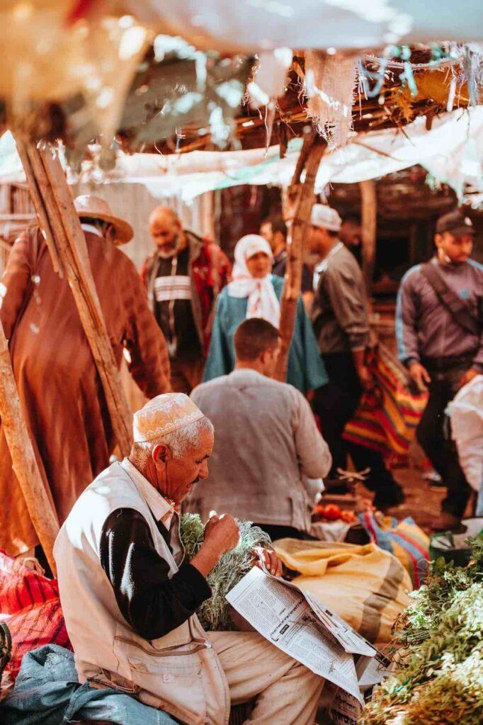 trhy v Maroku