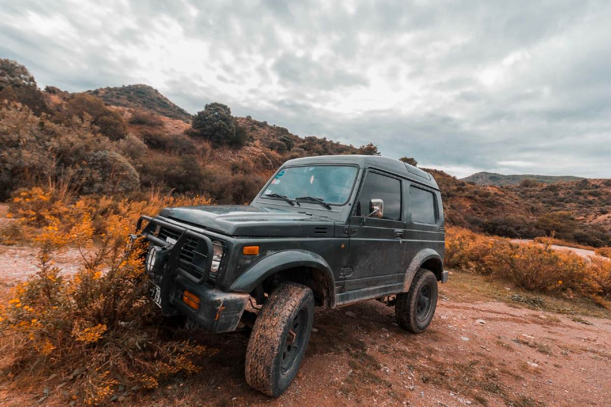 Tunisko - jeep